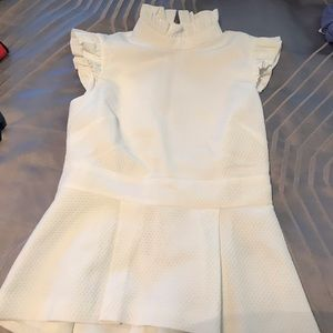 Ted Baker Top - White - Size 2